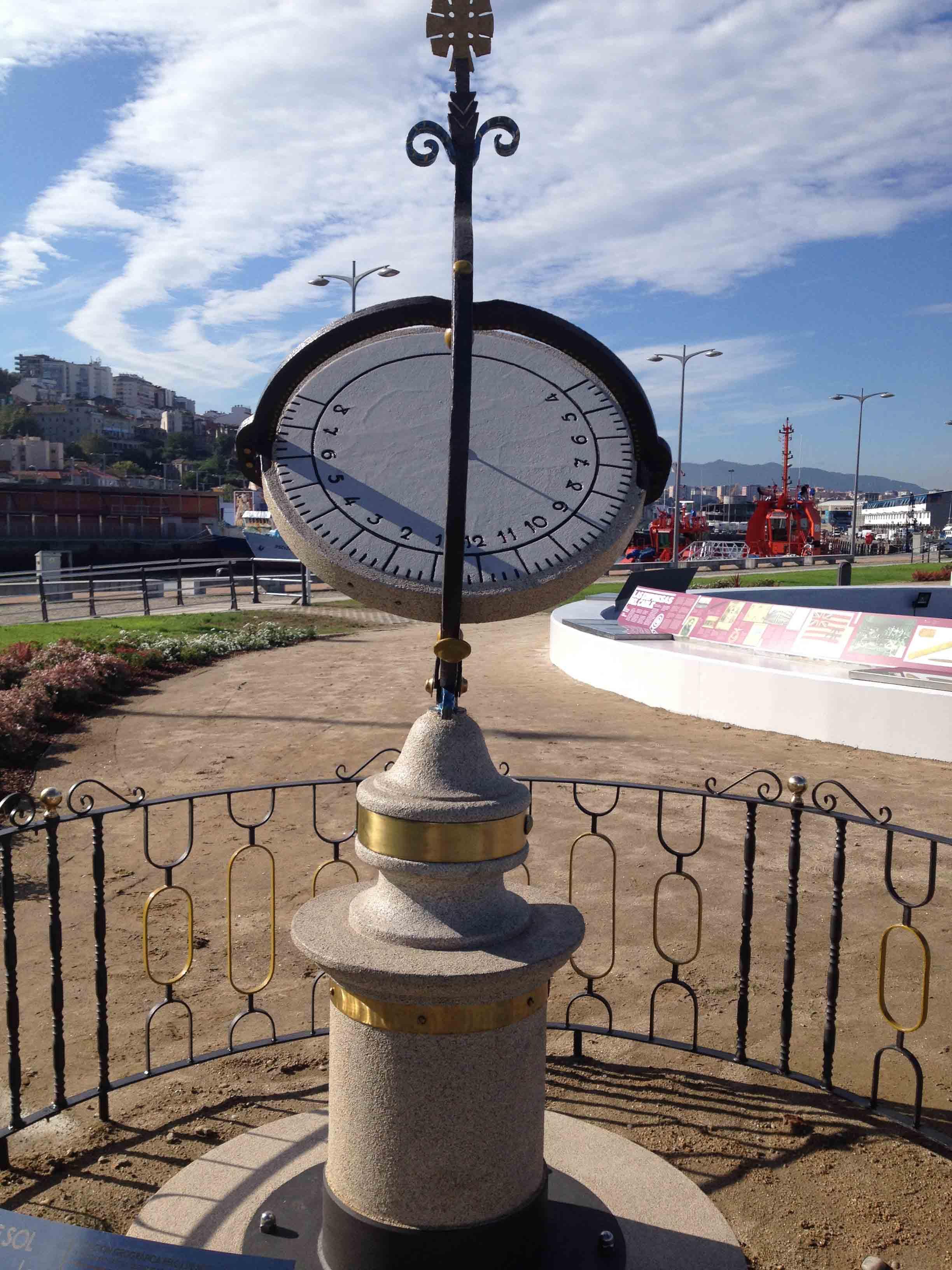 Reloj de Sol Puerto 6