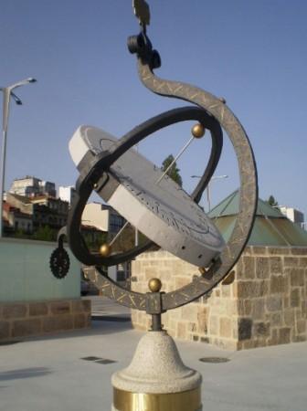 Reloj de sol Ecuatorial  1