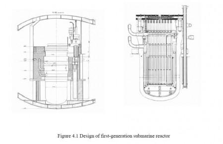 Reactor nuclear marino ruso de primera generación