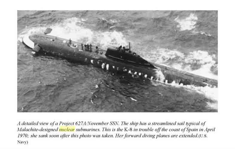submarino 627A