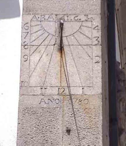 Reloj de Sol Plaza Constitución 2