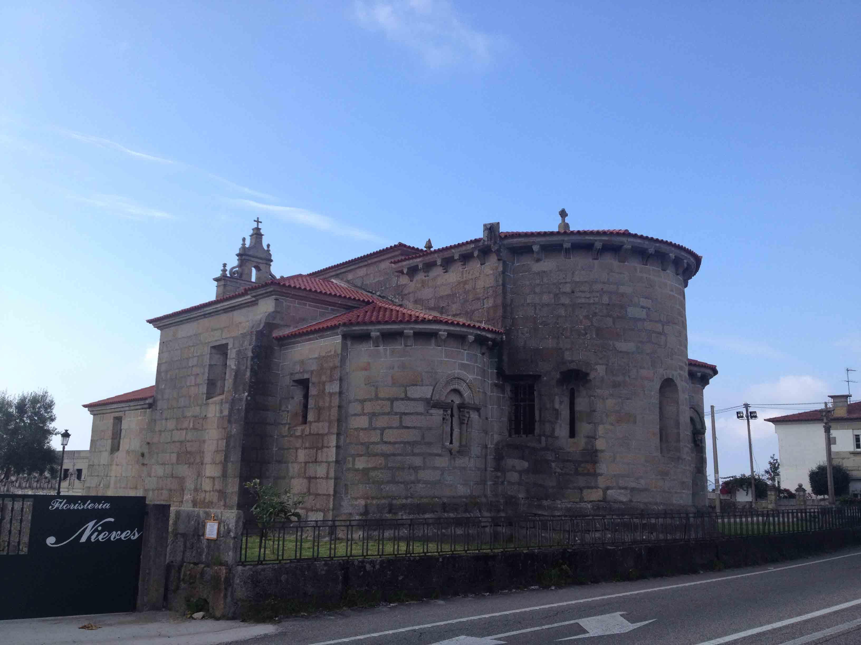 Iglesia Coruxo ábside