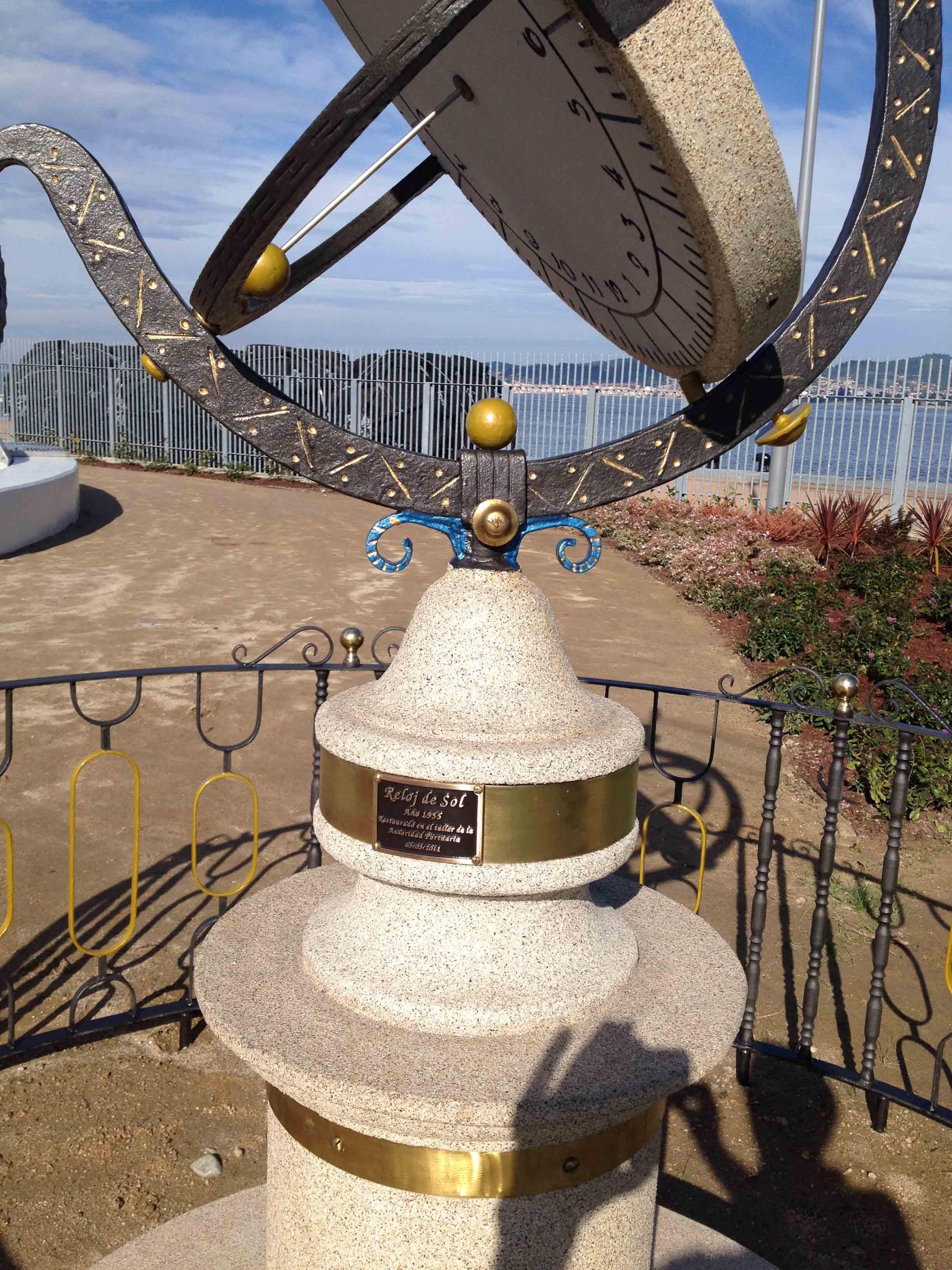 Reloj de Sol Puerto 11