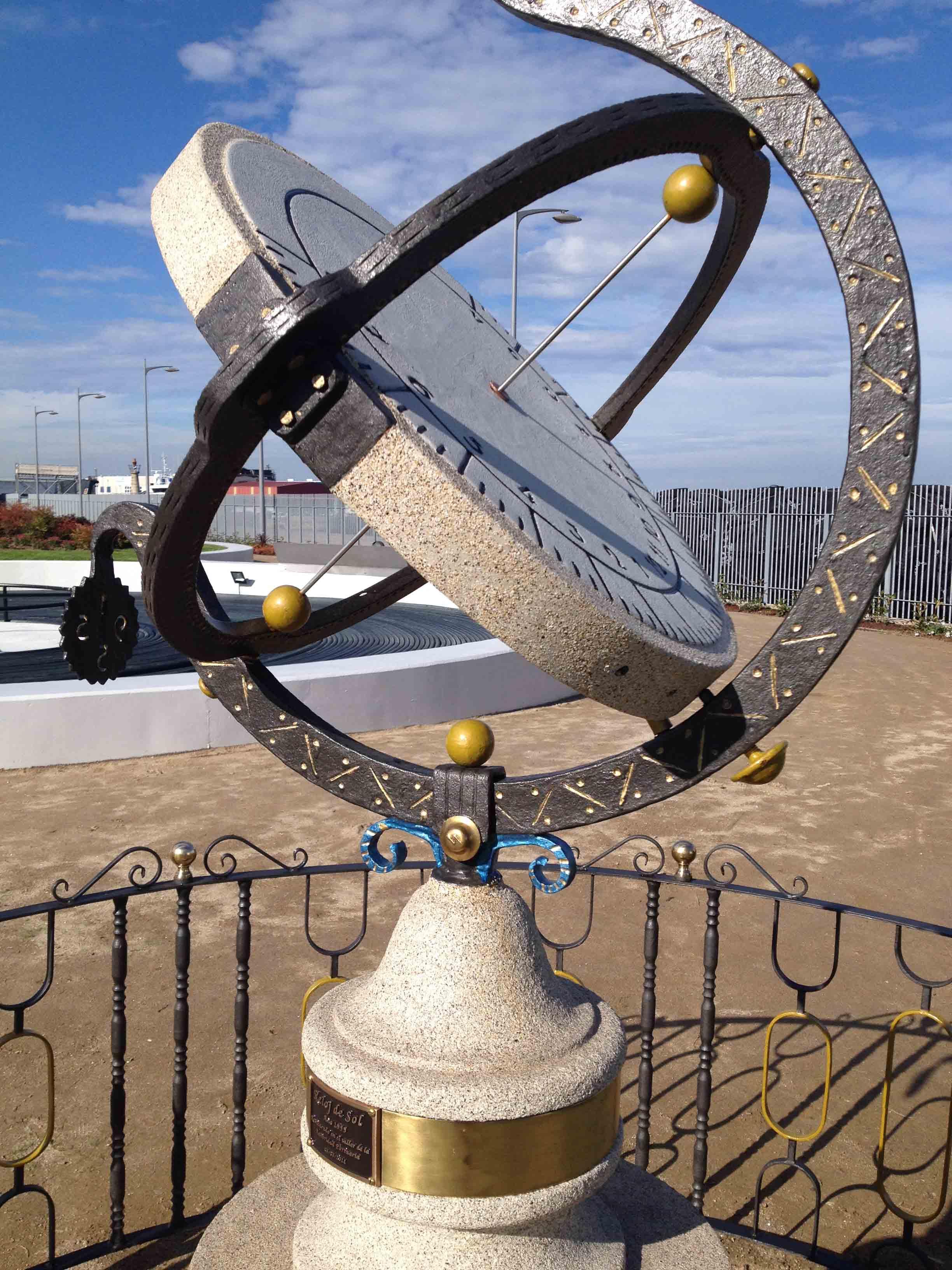 Reloj de Sol Puerto 12