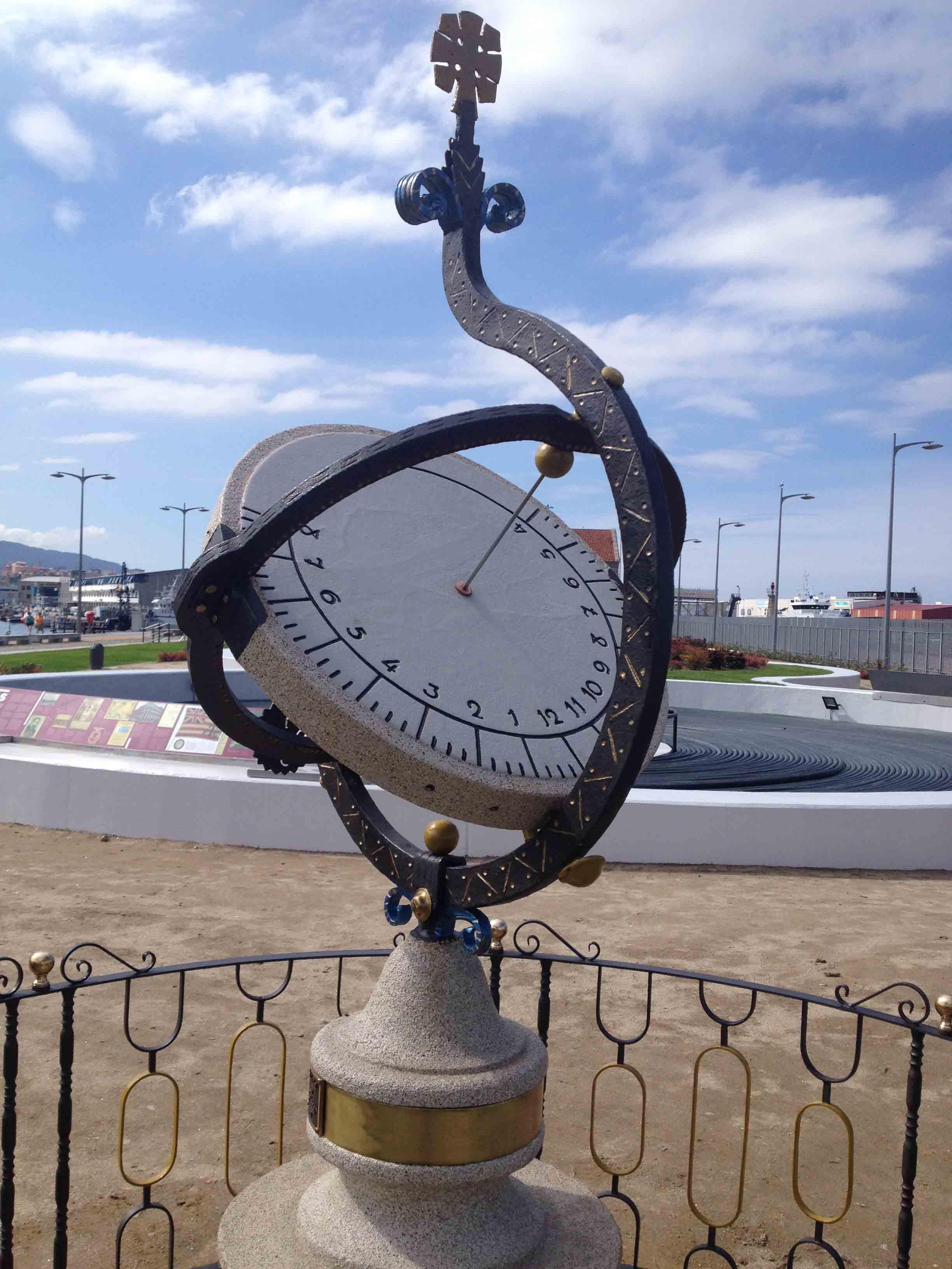Reloj de Sol Puerto 14