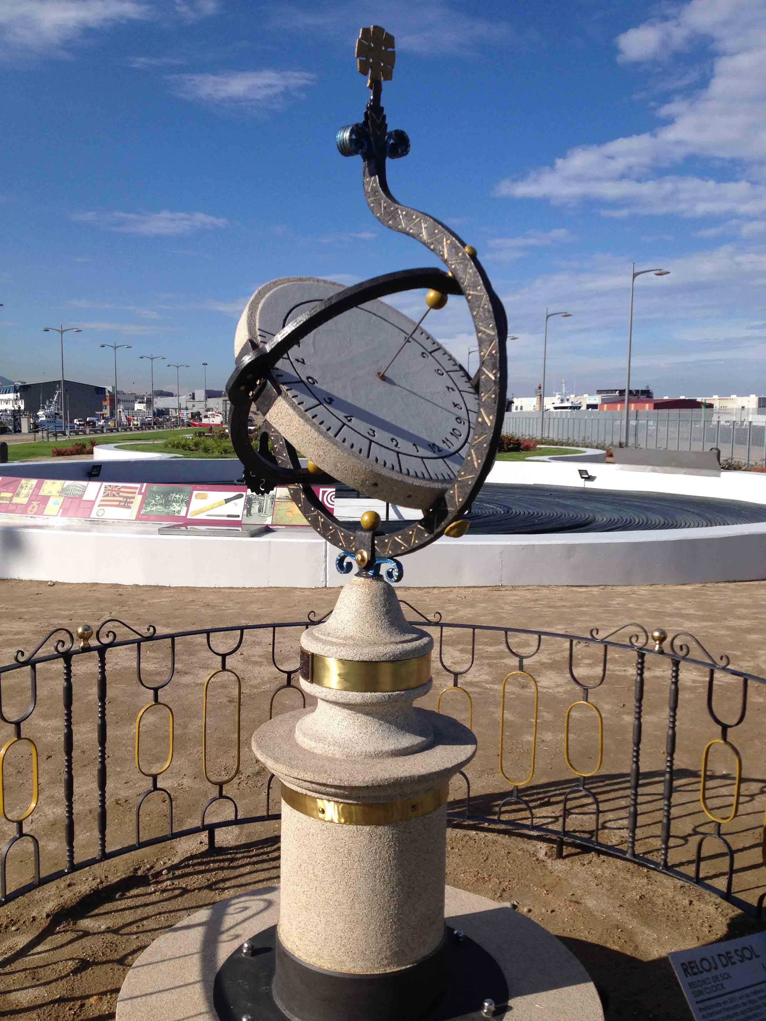Reloj de Sol Puerto 4