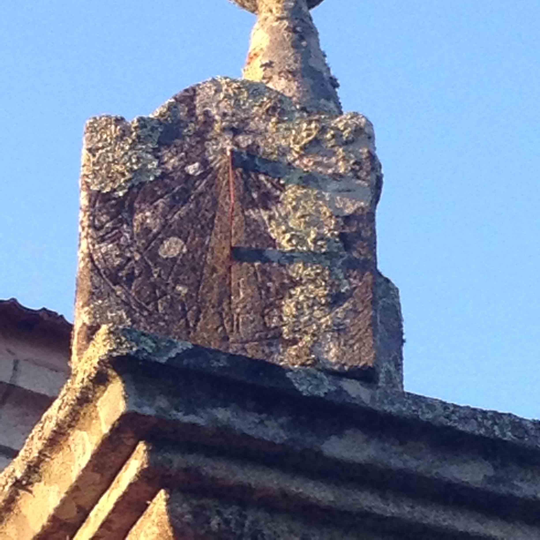Reloj de sol San Miguel de Cabreira - Salvaterra de Miño