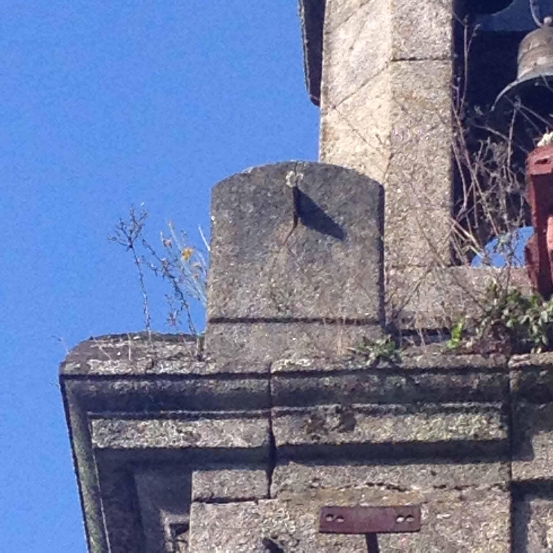 Reloj de sol de la iglesia de Santa Mariña de Redondela