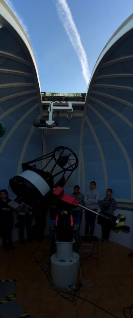 La cúpula del OAF