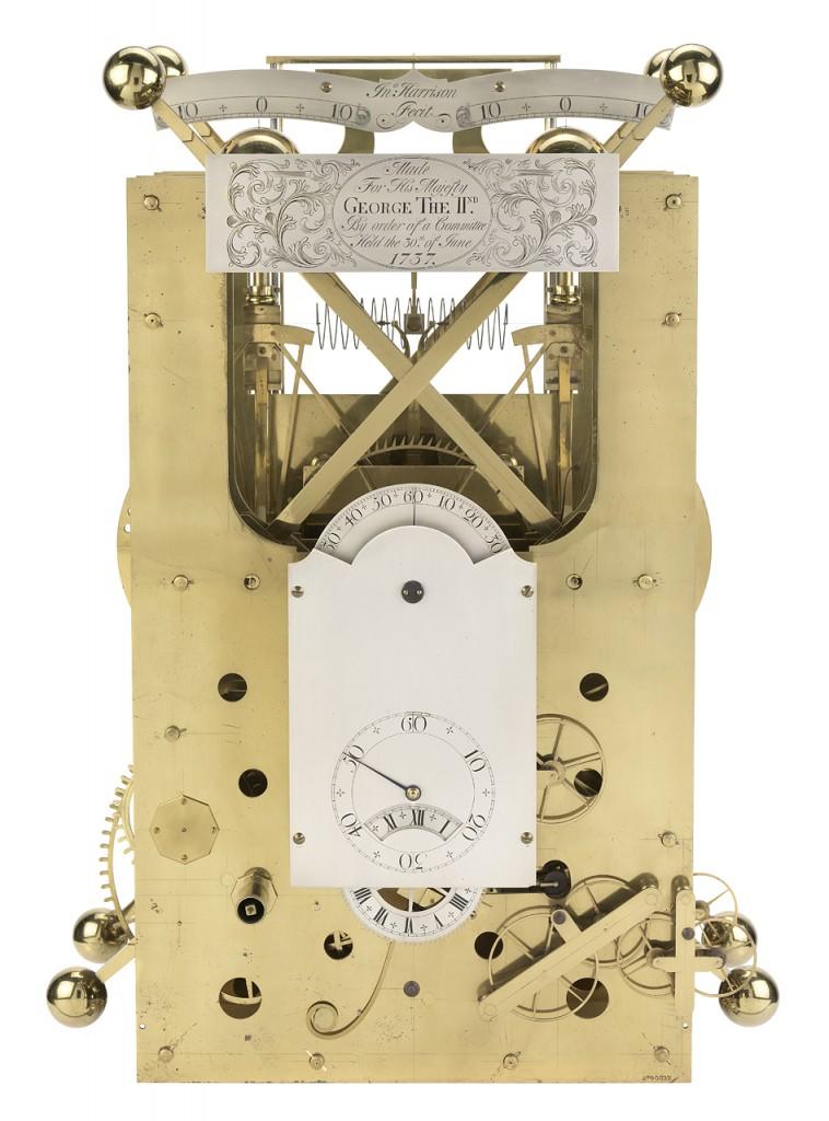 Cronómetro Marino Harrison Número Dos. 1739