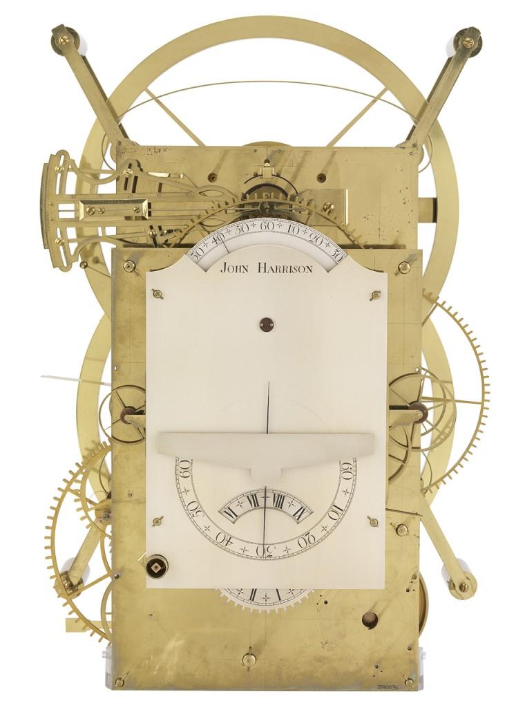 Cronómetro marino Harrison Número Tres. 1757