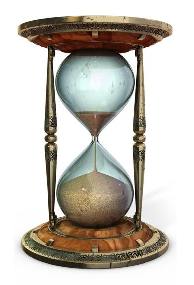 La medici n del tiempo la hora en el mar for Fotos de reloj de arena