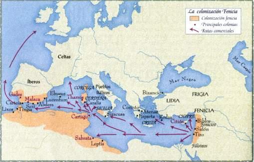 ruta fenicia