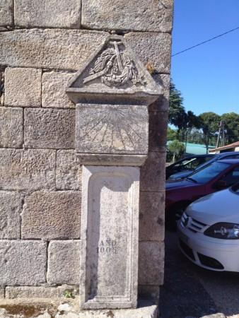 Reloj de sol de Santa María de Tomiño