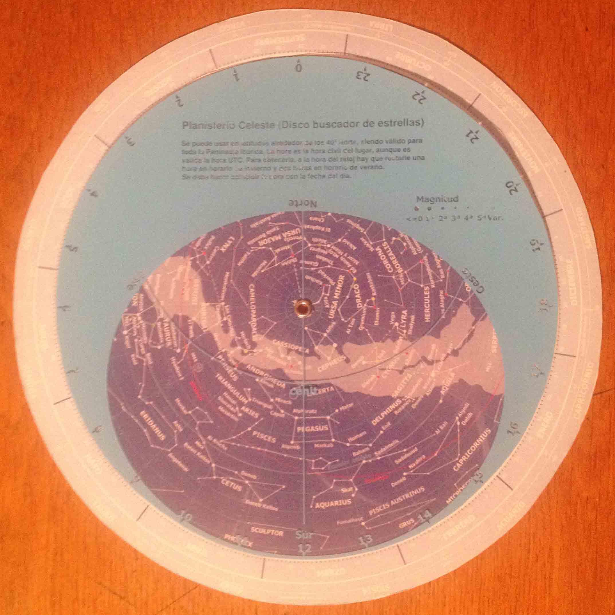 Planisferio Astrovigo