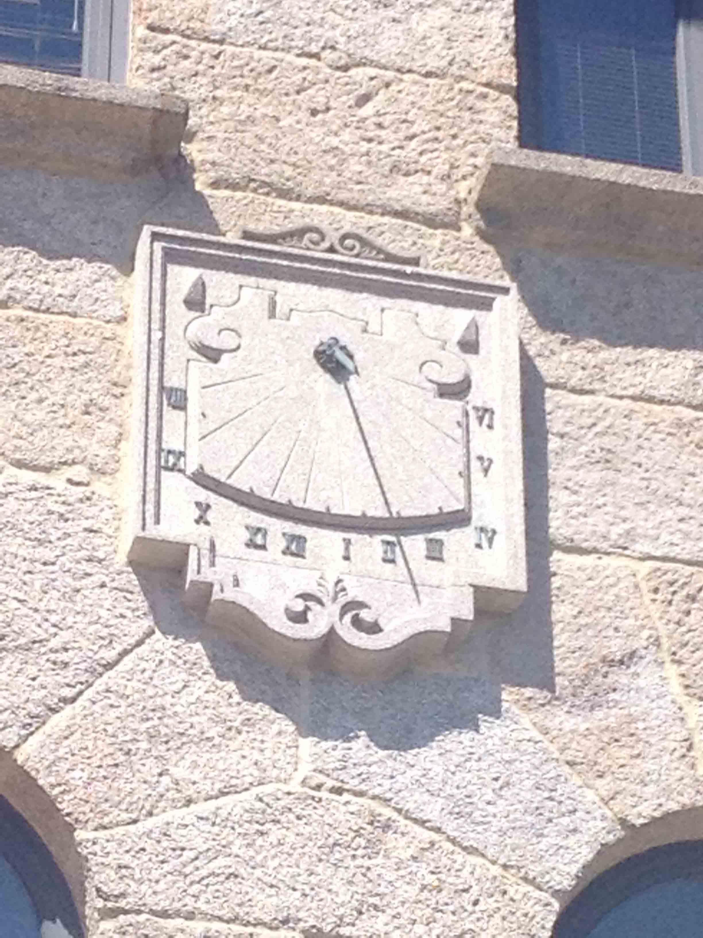 reloj sol sede celta 7
