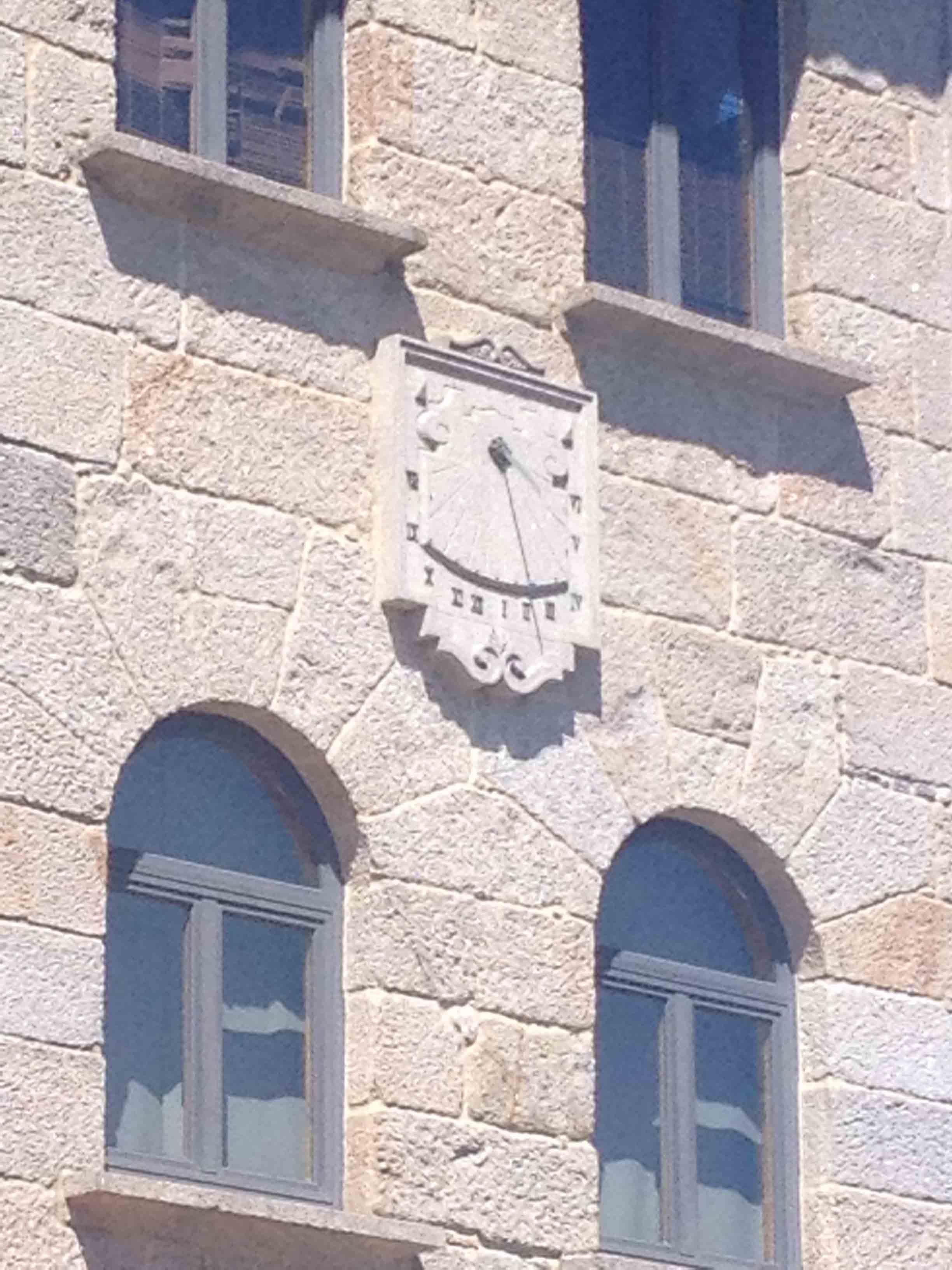 Reloj sol sede celta